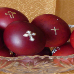 WHY DO WE DYE RED EGGS FOR EASTER?