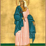 SAINT DYMPHNA, PATRON OF VICTIMS OF NERVOUS DISORDERS