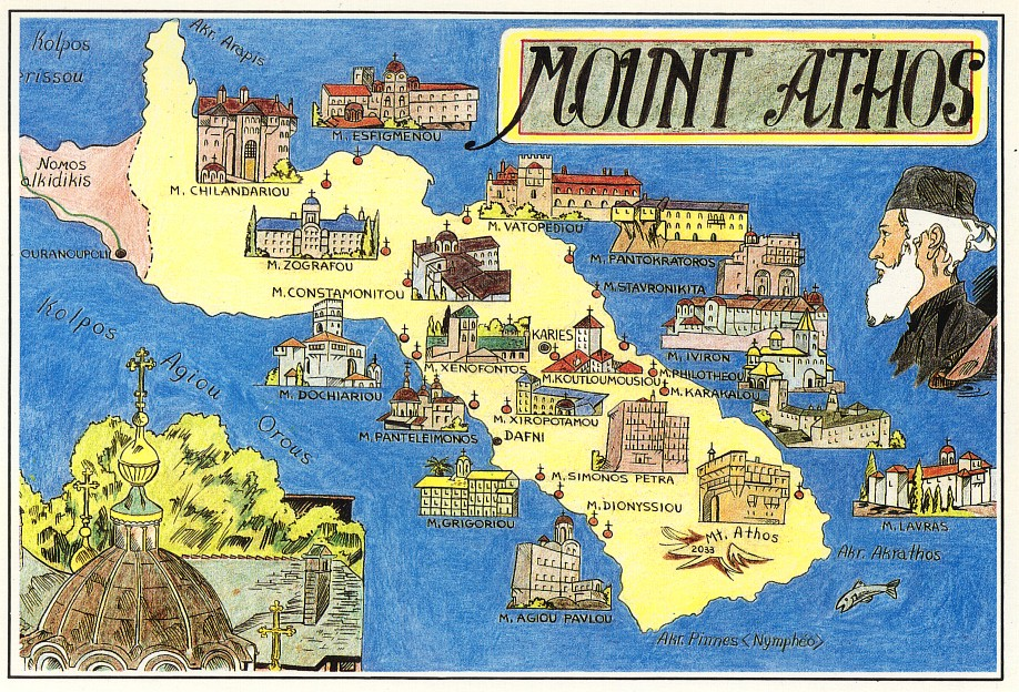 CBS ABOUT MOUNT ATHOS