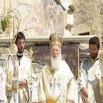 DIVINE LITURGY AT SOUMELA MONASTERY