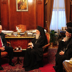 Ecumenical Patriarch welcomes Vice President Biden to the Phanar