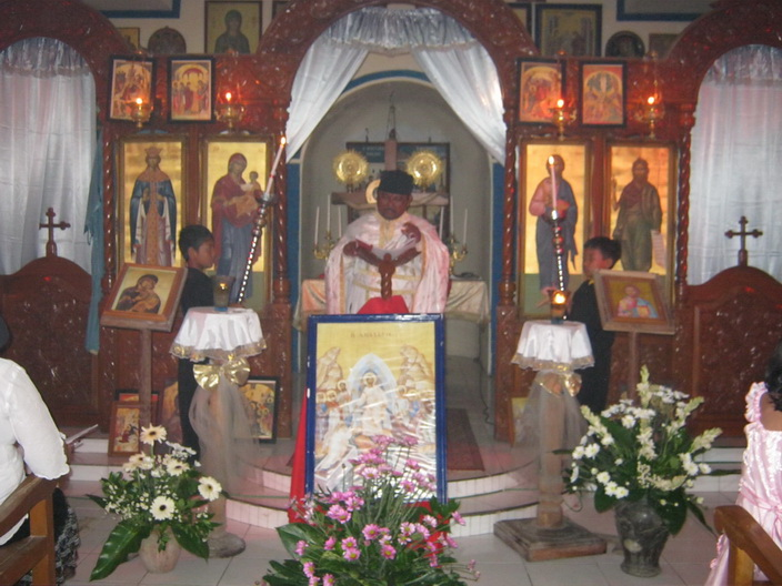 Boyolali Indonesia  city photo : ... Liturgy at Saint Catherine Orthodox Church in Boyolali, Indonesia