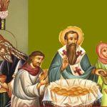 Saint Basil the Great and the custom of Saint Basil's Pie
