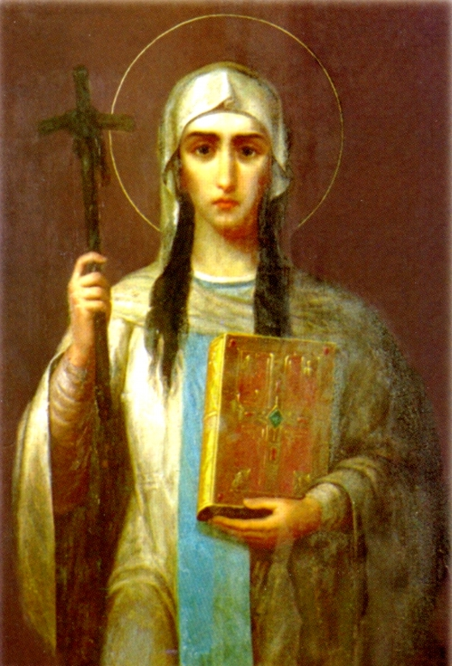 ST. NINA,  Equal to the Apostles, Enlightener of Georgia