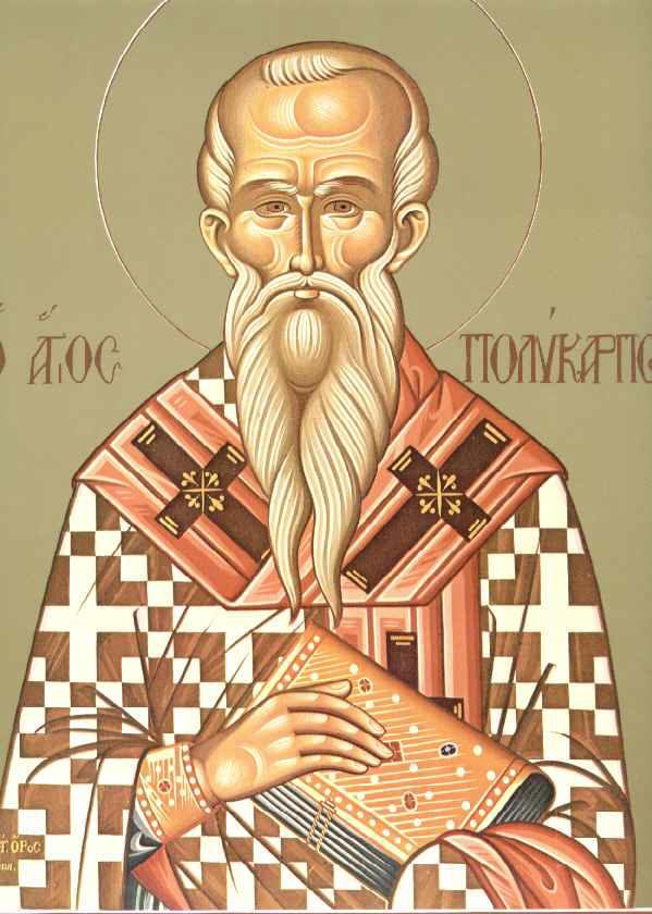 Saint Polycarp Of Smyrna Omhksea