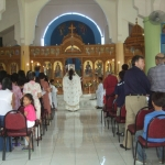 The celebration of the Sunday of the Holy Cross in Paranaque, Philippines