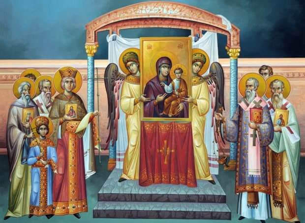 Synaxarion for the First Sunday of the Great Lent