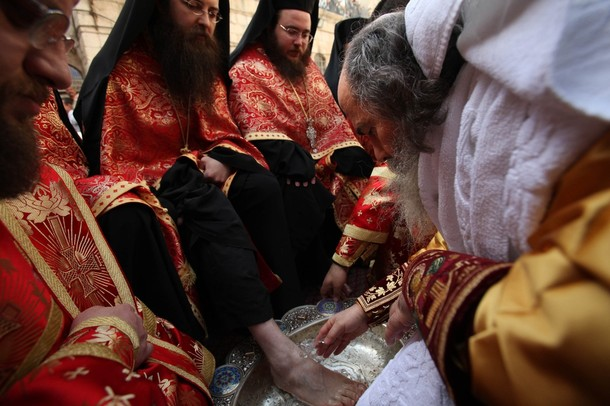 Foot Washing Ceremony in Jerusalem