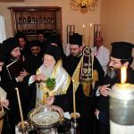 Beginning of the Process of Santictification of Holy Myrrh