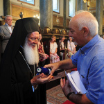 His All-Holiness receives Diploma of Excellence