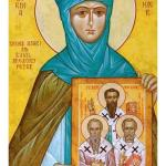 Saint Macrina, sister of Saint Basil the Great