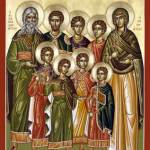 The Seven Holy Maccabee Martyrs (August 1)