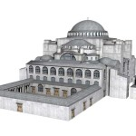 Three-Dimensional Reconstruction of the Great Church of Hagia Sophia's Sanctuary