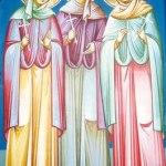 Saints Menodora, Metrodora and Nymphodora the Righteous Virgin Martyrs