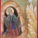 Saint Simon the Myrrh-Streamer, Founder of Simonopetra Monastery