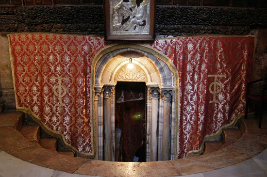 Entrance to the Grotto of the Nativity