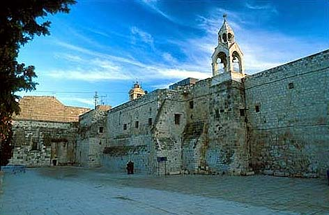 Exterior of the Church of the Nativity, Bethlehem