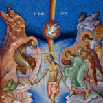 The Apolytikion of the Forefeast of Theophany in Chinese