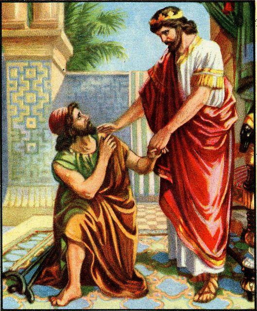 Mephibosheth Before David II Samuel 9:3-6