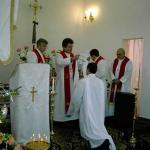 The Divine Liturgy of Saint John Chrysostom, used by the Ukrainian Lutheran Church, and its missing elements