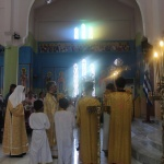 The celebration of the Sunday of Orthodoxy and the Ordination of a new Deacon