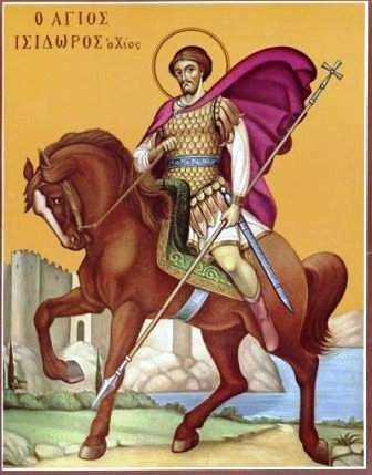 Saints Isidore and Myrope the Great Martyrs of Chios (May 14)