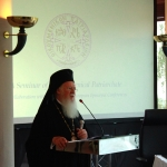 Keynote Address by Ecumenical Patriarch at the Official Opening of the Seminar on the 1700th Anniversary since the Edict of Milan