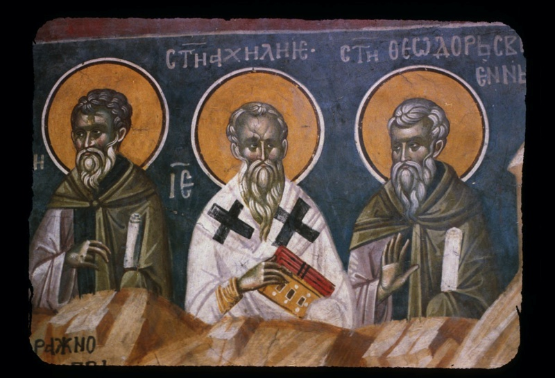 Saint Achillius of Larissa, the Ecumenical Father