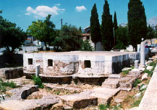 The remains of the early Christian Basilica of Saint Isidore