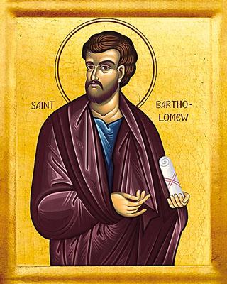 June 11th: Holy Apostle Bartholomew of the Twelve