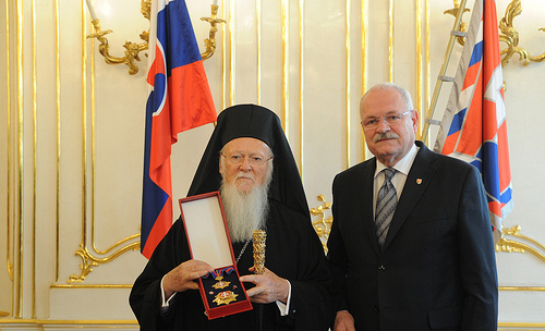 Ecumenical Patriarch in the Czech lands and Slovakia