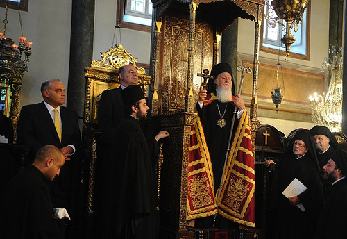 Ecumenical Patriarch Celebrates feast of Patron Saint