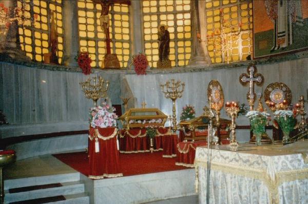 The relics of Saint David