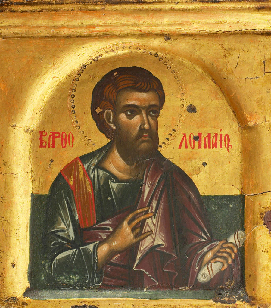 Saint Theodore the Studite on Bartholomew the Apostle