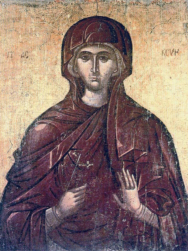 July 26: Saint Paraskevi the Righteous Martyr of Rome