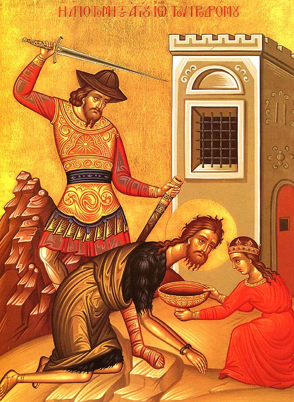 Saint John Chrysostom on the Beheading of the Precious Forerunner