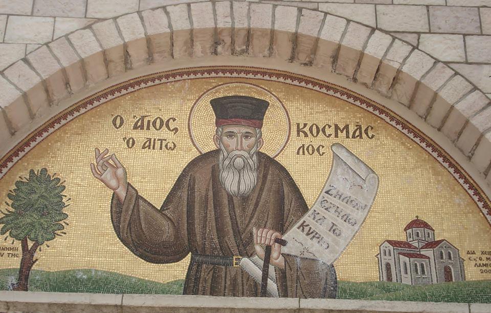 August 24: Saint Cosmas of Aitolia