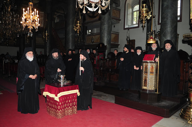 The election of a new Bishop at the Ecumenical Patriarchate