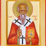 August 23: The Holy Hieromartyr Irinaios, Bishop of Lugdunum (Lyons)