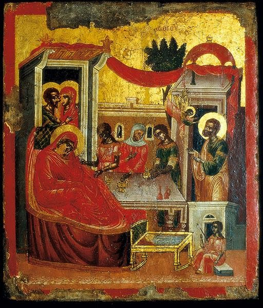 An Explanation of the Icon of the Birth of the Theotokos