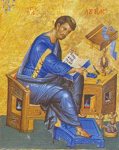 Saint Luke the Evangelist as a Model for our Lives