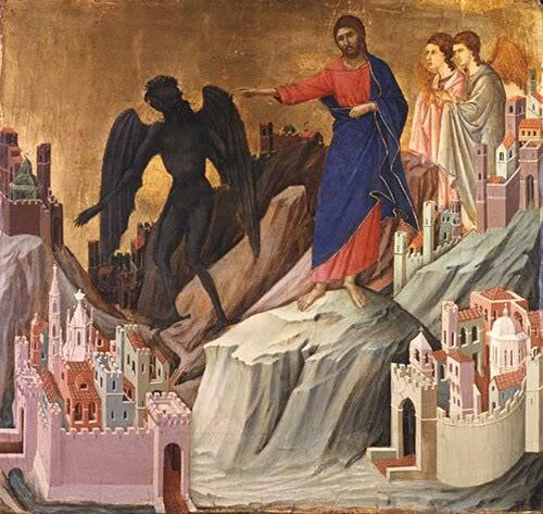 Christ and Devil