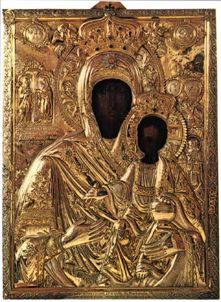 The Most Holy Theotokos and Saint John Koukouzelis