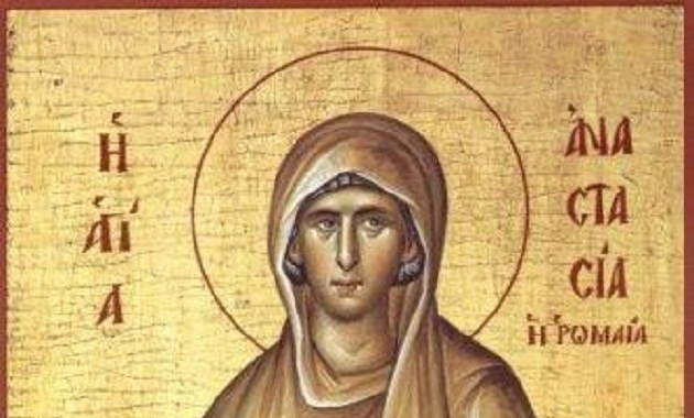 saint anastasia the roman as a model for our lives omhksea