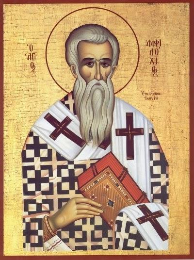Saint Amphilochios of Iconium as a Model for our Lives