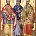 November 1st: Saints Cosmas and Damian from Asia Minor