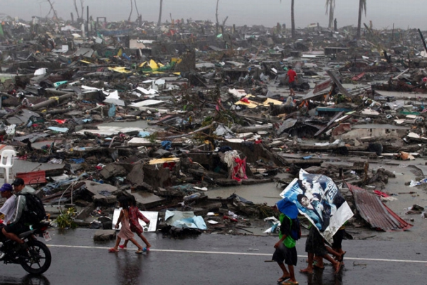 Let Us Send a Message of Hope and Life to the Thousands Affected by Typhoon Haiyan in the Philippines