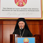 Ecumenical Patriarch Bartholomew to the 2nd Archon International Conference on Religious Freedom
