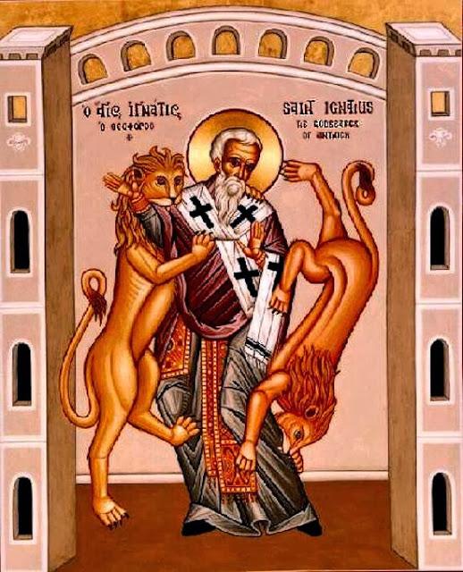 Homily on Saint Ignatius the God-Bearer by Saint John Chrysostom