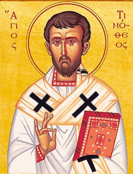 The Holy Apostle Timothy as a Model for our Lives